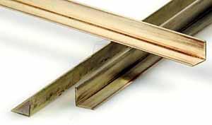 K & S 9881 - 3/16 (4.76 mm) Brass Angle