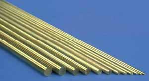 K & S 8166 3/16 inch (5mm) Brass Rod