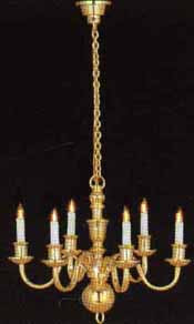 6 Arm Chandelier