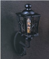 Coach Lamp - Black Finish