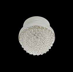 Silver Frosted Ceiling Light LED