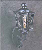 Carriage Lamp - Black
