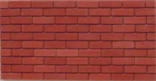 Multi Red Brick Slips