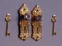 13. Crystal Door Knobs
