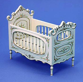 Dolls House Nursery Cot