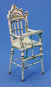 Dolls House Nursery High Chair