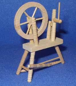 54. Sloping Style Spinning Wheel