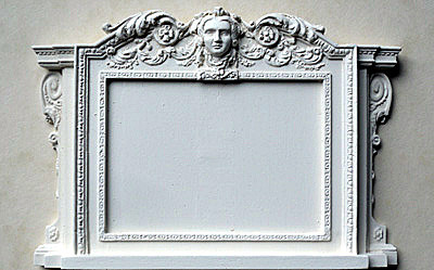 09 Georgian Overmantel