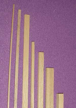 6310 1/8 x 1/2 x 12 inch Bass Wood