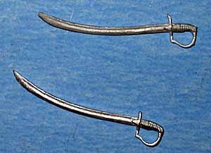 1/24th Scale Swords / Sabres
