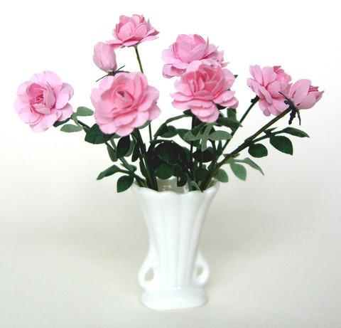 Pink Rose Flower Kit