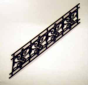 Angled Stair Plastic Railing