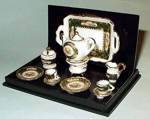 Reutter Miniature Tea Set