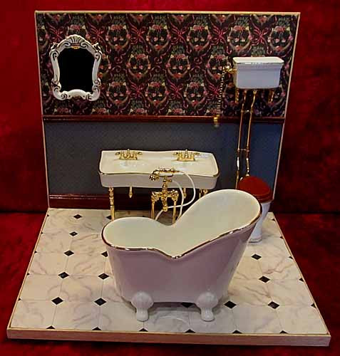 Reutter Deluxe White Bathroom Suite - Double Sink