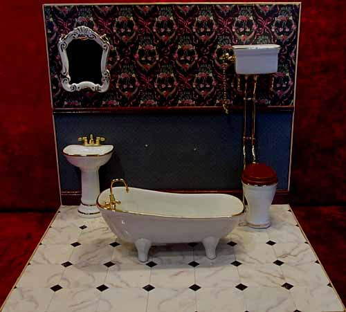 Reutter Classic White Bathroom Suite