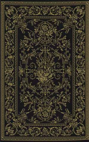 14. Georgian Style Ebony and Gold Rug