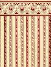 12. Regency - Burgundy Stripe
