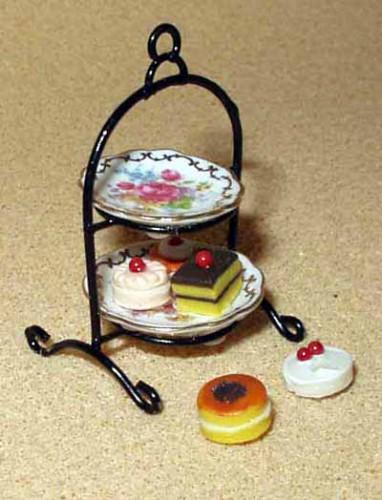 Reutter Tea Cake Stand