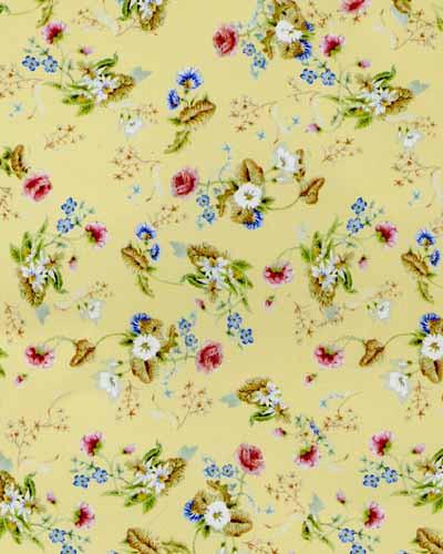 84. Rococco Silk Corn Wallpaper