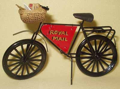 Post Delivery Bicycle