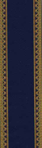 05. Blue and Gold Edged Stair Carpet