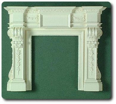 09 Georgian Fireplace