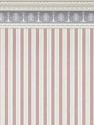 Heather Stripe with Border