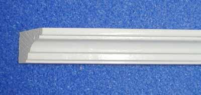 White Painted Cornice