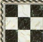Marble Floor Tile with Border