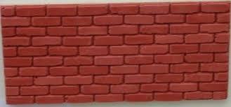 Weathered Brick Slips Dolls House