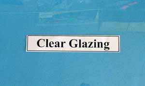 0.50mm Window Glazing