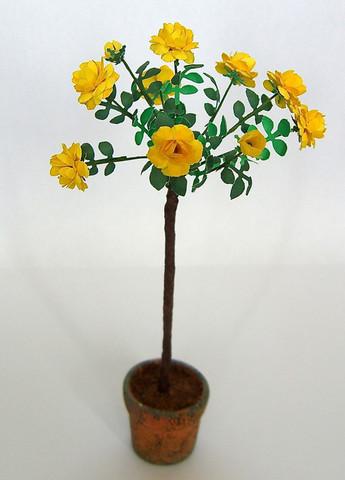 Yellow Rose Flower Kit