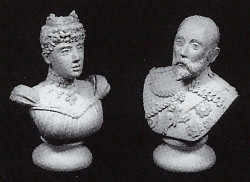 DH112 Pair of Busts