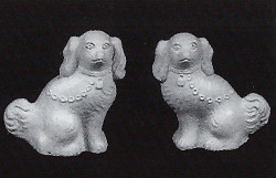 DH121  Staffordshire Dogs